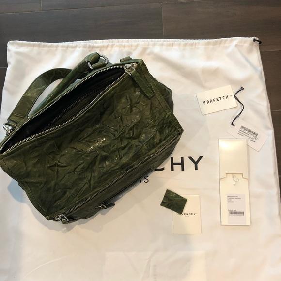 2ebc6ba4e44 Givenchy Bags | Pandora Medium Khaki Green Bag | Poshmark